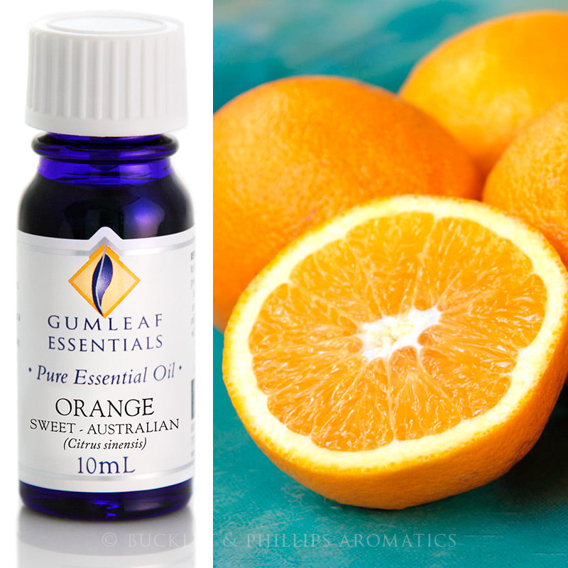 Orange Sweet Valencia Essential Oil
