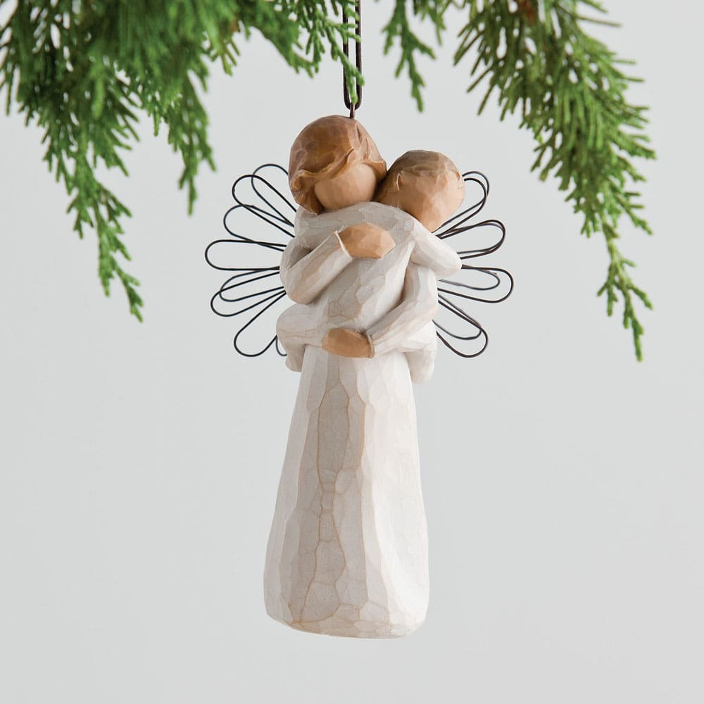 Angel's Embrace Ornament | Willow Tree | WHITEHILL & CO