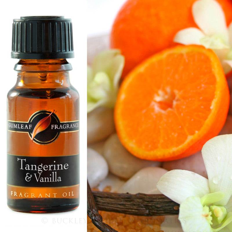 Tangerine & Vanilla Fragrance Oil