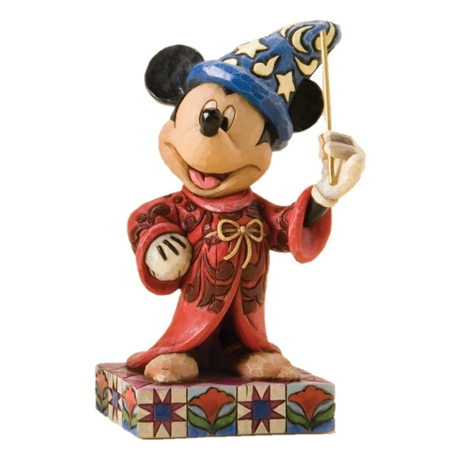 Sorcerer Mickey, Touch of Magic | Disney | DISNEY TRADITIONS BY JIM SHORE