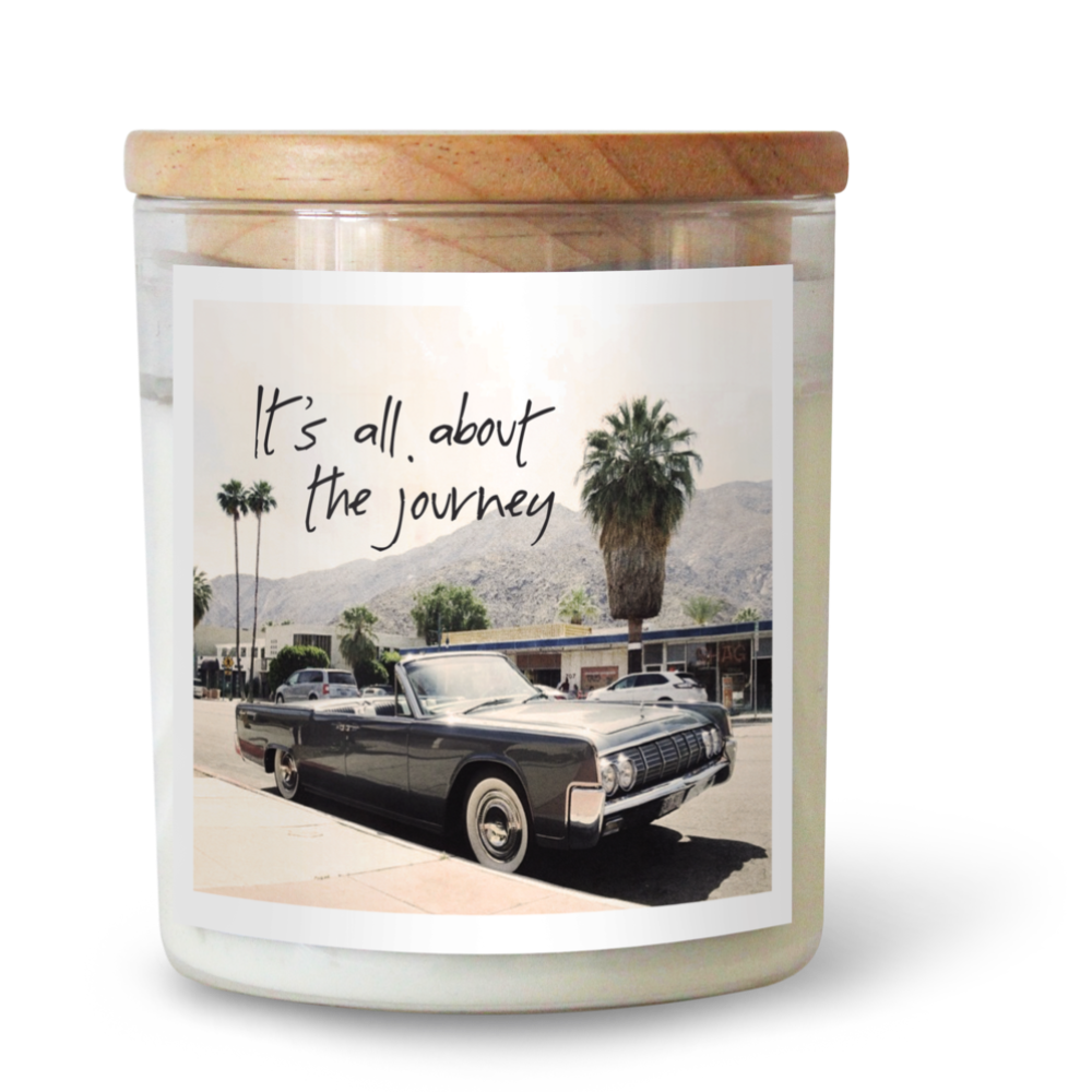 Its all About The Journey | Candle 600g | THE COMMONFOLK