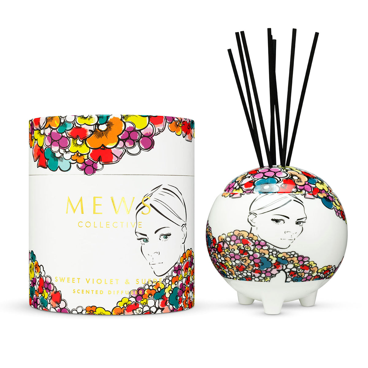 MEWS SWEET VIOLET & SUEDE – SCENTED DIFFUSER 350ml