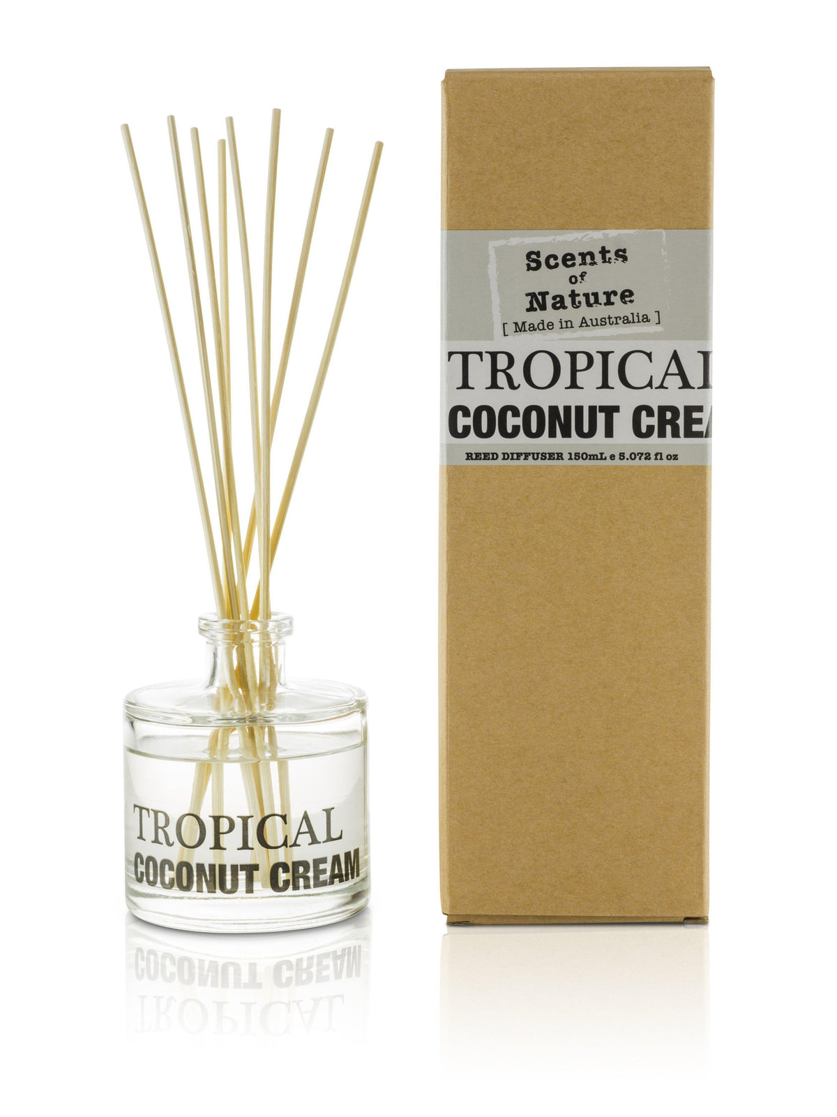 Tropical Coconut Cream Reed Diffuser 150mL