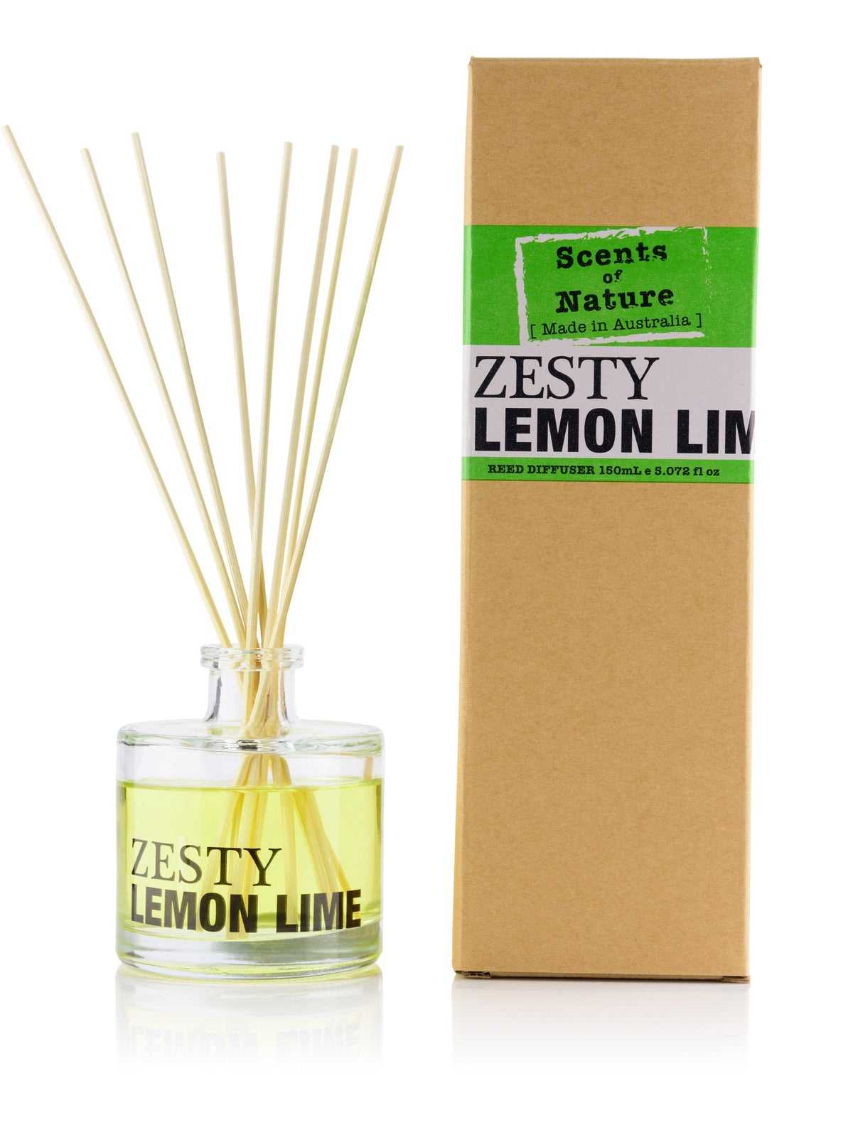 Zesty Lemon Lime Reed Diffuser 150mL