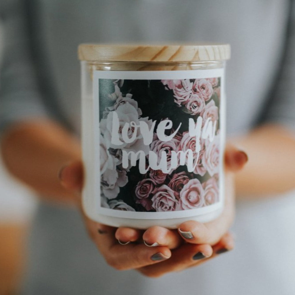 Love ya Mum | Candle 600g | THE COMMONFOLK