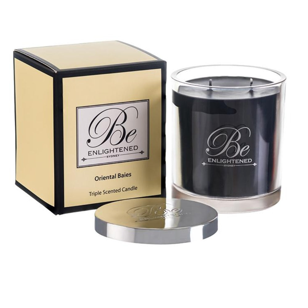 Oriental Baies | Elegant Candle 400g | BE ENLIGHTENED