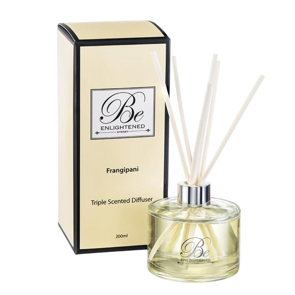 Frangipani | Elegant Diffuser 200ml | BE ENLIGHTENED