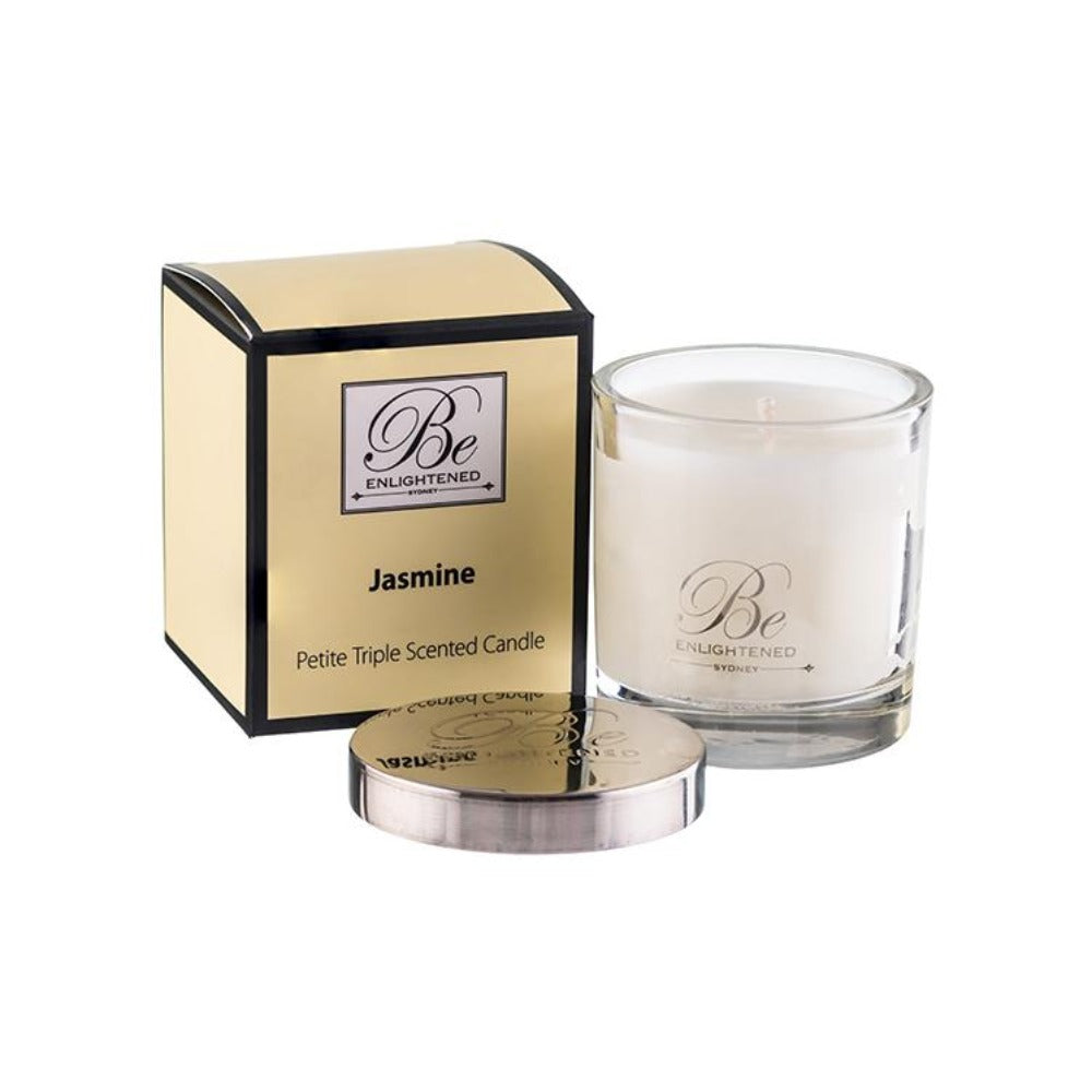Jasmine | Petite Candle 100g | BE ENLIGHTENED