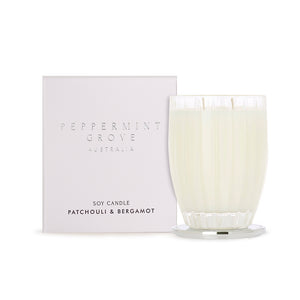 PATCHOULI & BERGAMOT LARGE CANDLE 350G