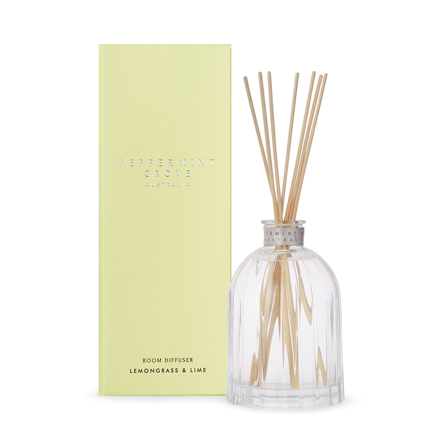 LEMONGRASS & LIME LARGE DIFFUSER 350ML