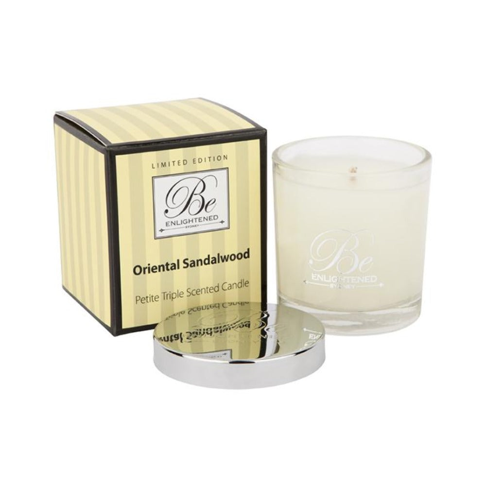 Oriental Sandalwood | Petite Candle 100g | BE ENLIGHTENED