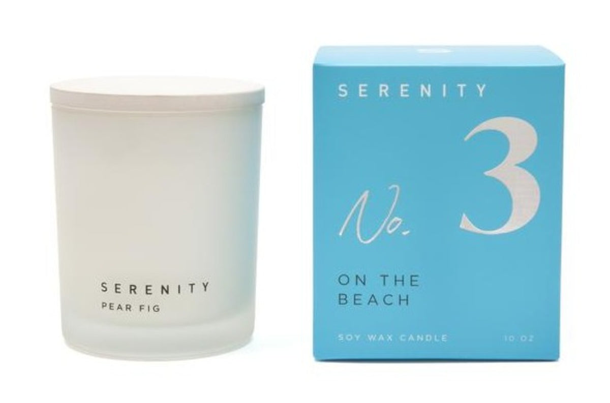 SIGNATURE - ON THE BEACH | Candle 10 Oz | SERENITY