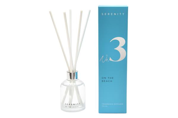SIGNATURE - ON THE BEACH | Diffuser 150ml | SERENITY