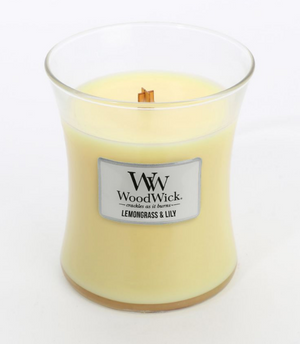 WoodWick Lemongrass & Lily Medium