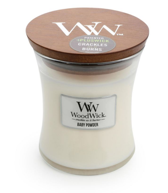 WoodWick Baby Powder Medium