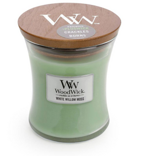 WoodWick White Willow Moss Medium