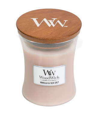 WoodWick Vanilla & Sea Salt Medium