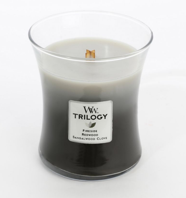 WoodWick Warm Woods Trilogy Medium