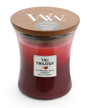 WoodWick Summer Fruits Trilogy Medium