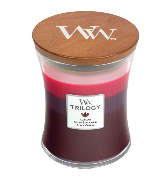 WoodWick Sun Ripened Berries Trilogy Med