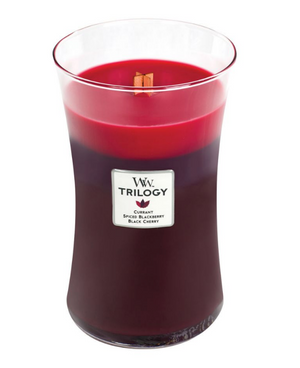 WoodWick Sun Ripened Berries Trilogy Lrg