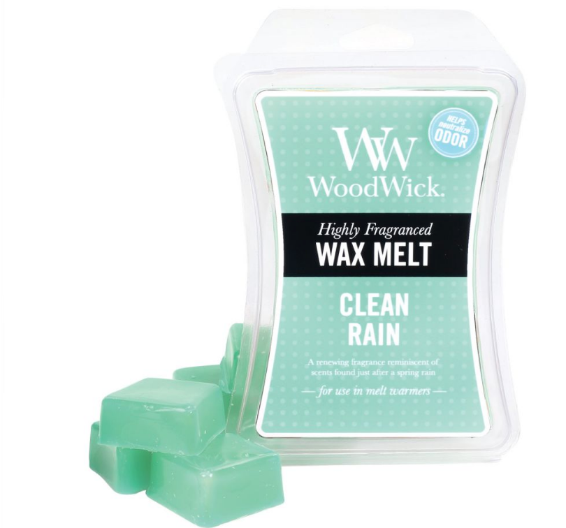 WoodWick Clean Rain Wax Melt