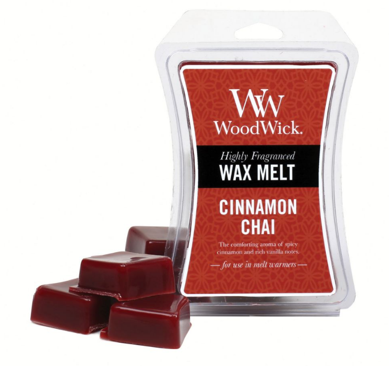 WoodWick Cinnamon Chai Wax Melt