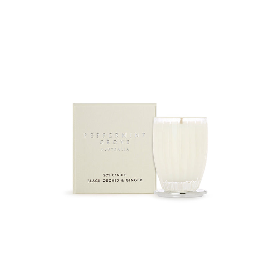 BLACK ORCHID & GINGER SMALL CANDLE 60G