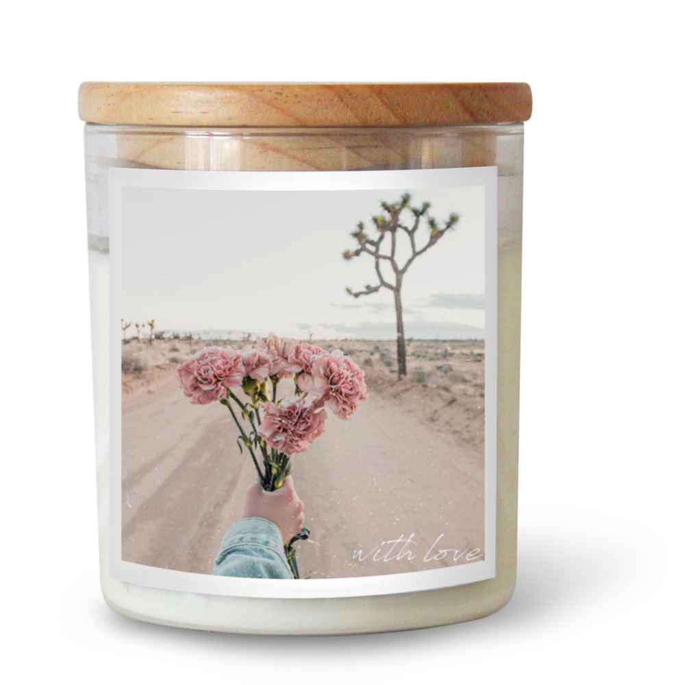 With Love | Candle 600g | THE COMMONFOLK