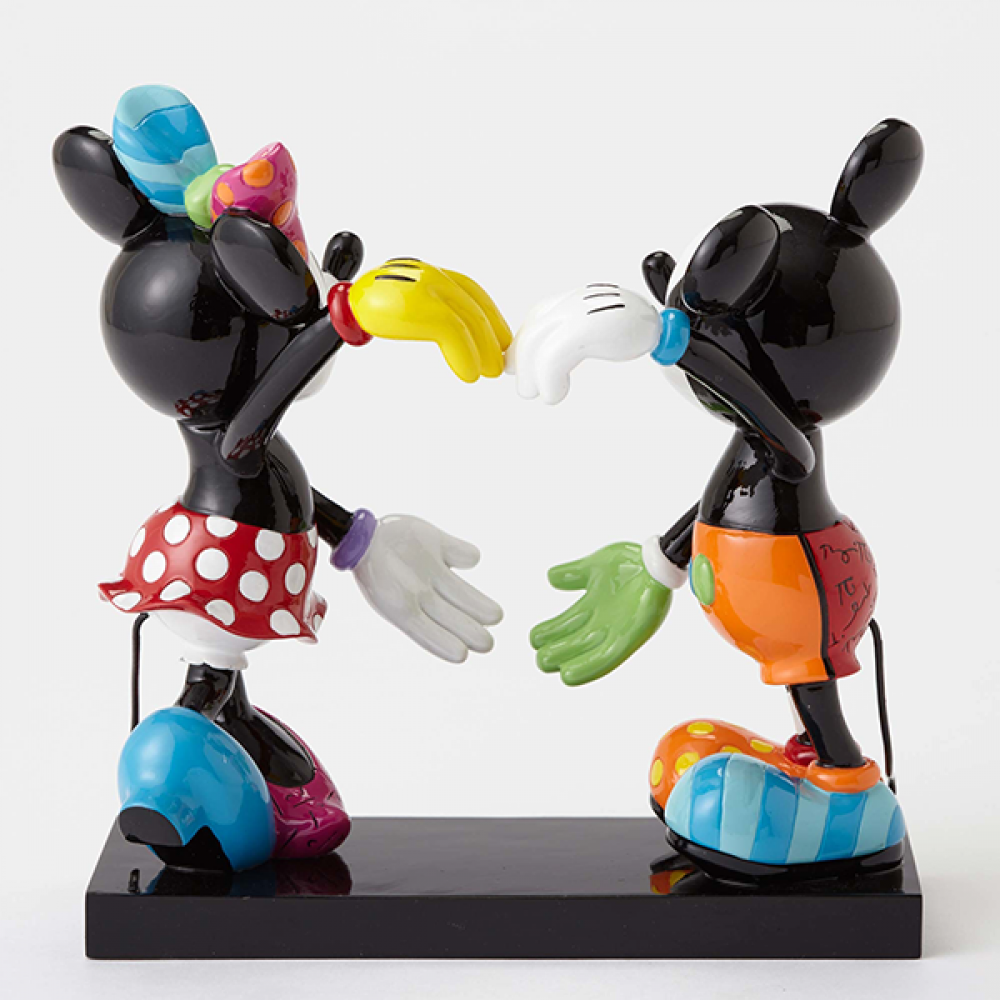 MICKEY AND MINNIE HEART FIGURINE LARGE | Disney | BRITTO
