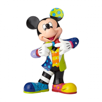 MICKEY MOUSE LARGE 90TH ANNIVERSARY FIGURINE WITH BLING | Disney | BRITTO