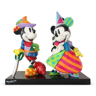 MICKEY & MINNIE NUMBERED LIMITED EDITION | Disney | BRITTO