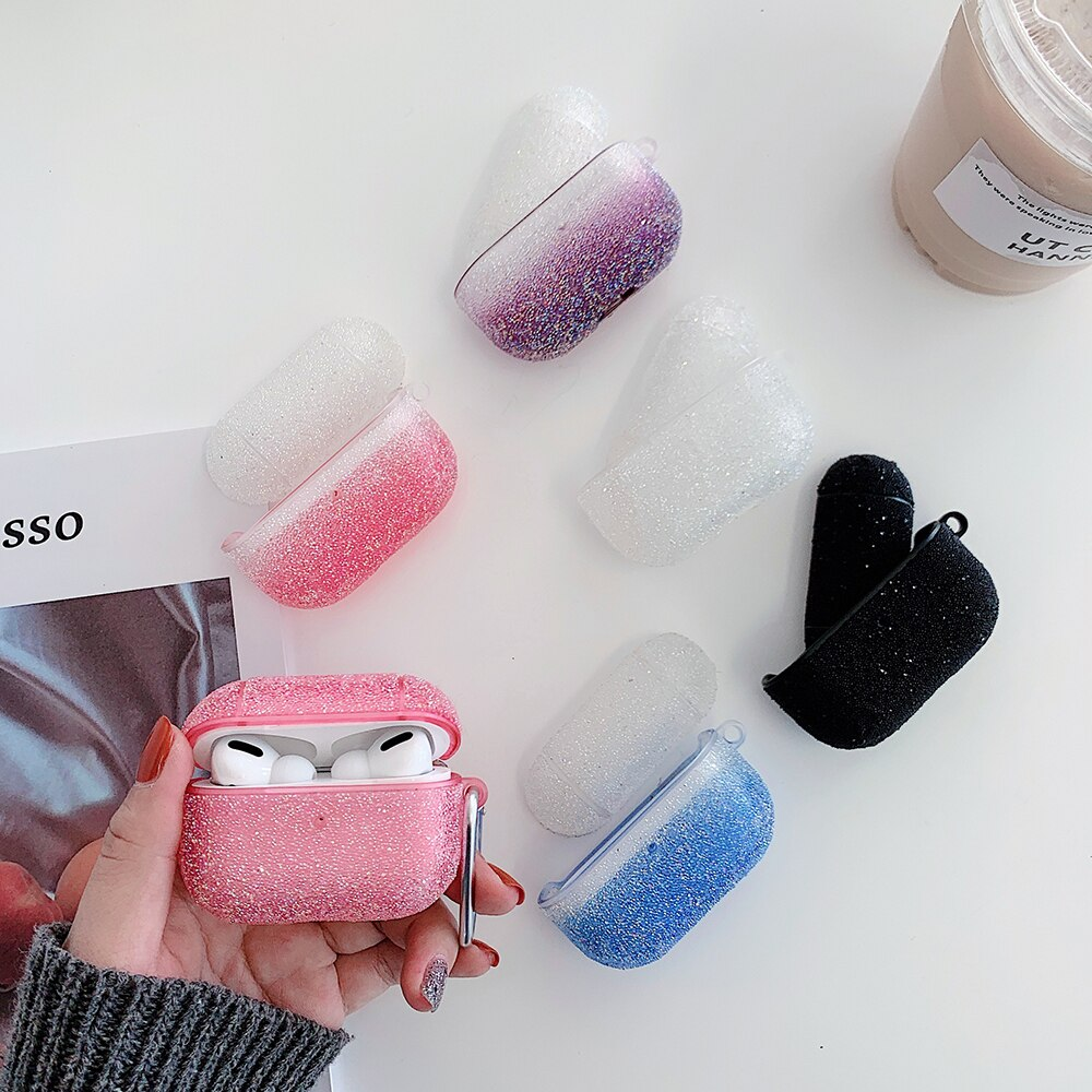 Gradient Glitter Case For AirPods Pro