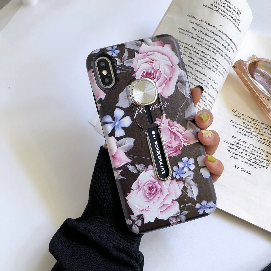 Pink Roses Case For iPhone - 2.0