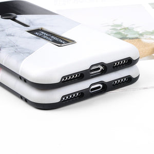 Duo & Marble Case For iPhone
