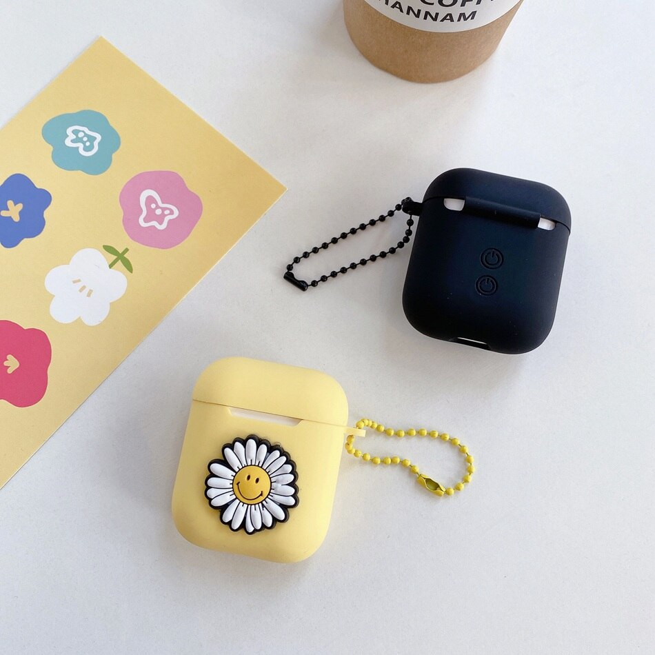 Smile Daisy Case For AirPods