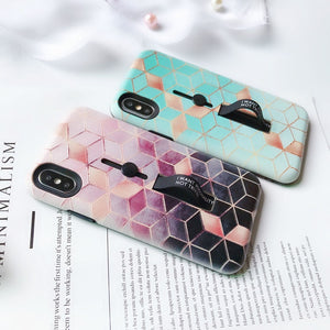 Abstract Cubes Case For iPhone