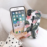 Banana Leaf Case For iPhone