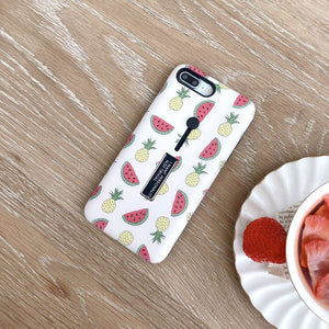 Watermelon & Pineapple Case For iPhone