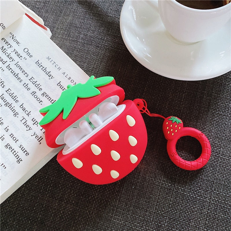 Strawberry Case For AirPods
