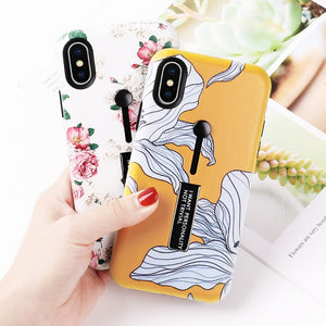 Yellow Flower Case For iPhone