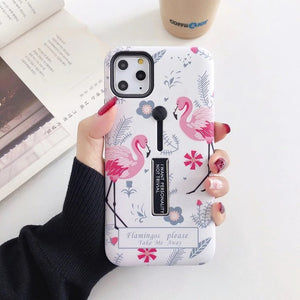 Flamingos Case For iPhone