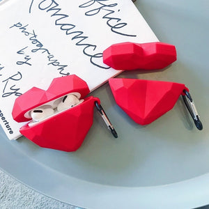 Geometric Heart Case For AirPods