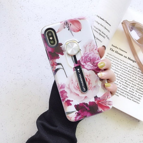 Violet Flower Case For iPhone - 2.0