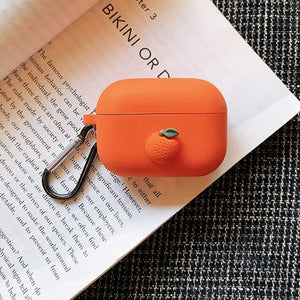 Orange Case For AirPods Pro