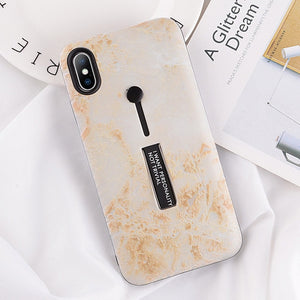 Beige Marble Case For iPhone