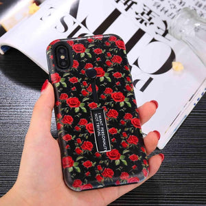 Rose Night Phone Cases For iPhone