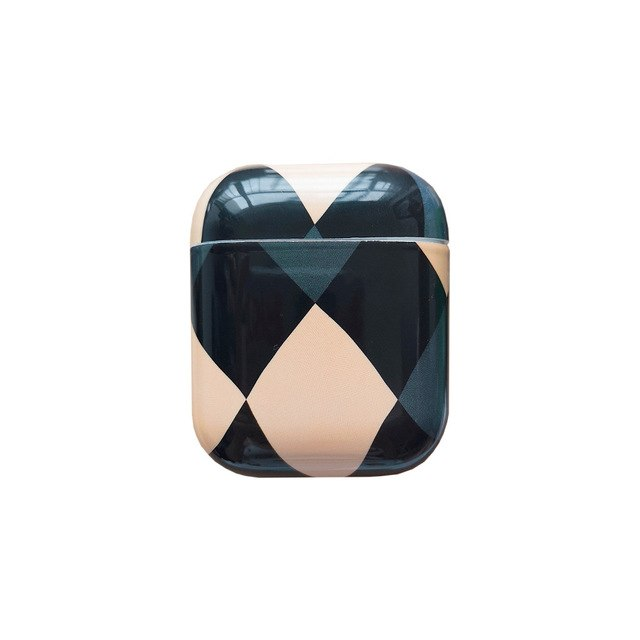 Classic Diamond Grid Case For AirPods