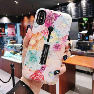 Colorful Flower Case For iPhone