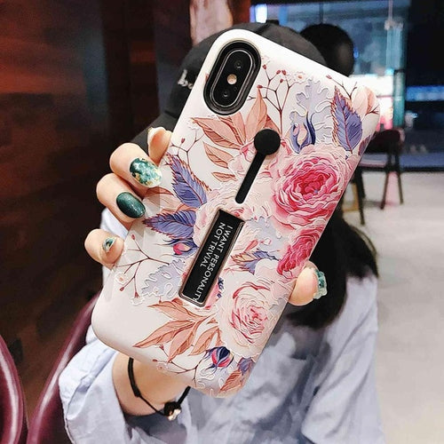 Bright Rose Case For iPhone